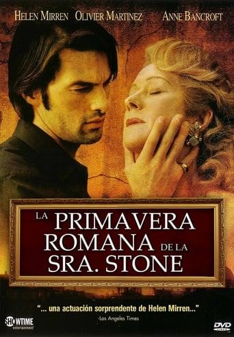 Poster of La primavera romana de la Sra. Stone