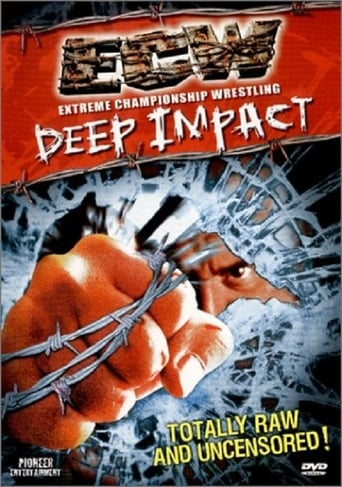 Poster of ECW: Deep Impact