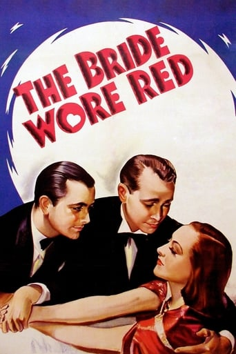 Poster of The Bride Wore Red