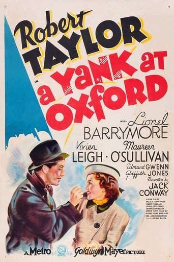 Poster of A Yank at Oxford