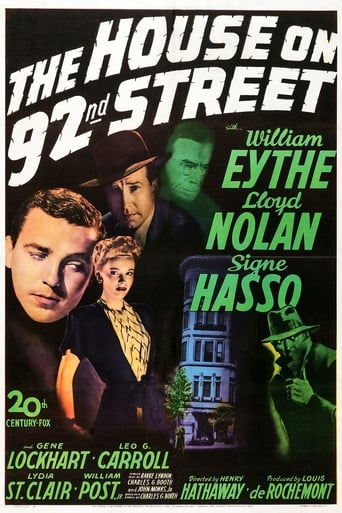 Poster of The House on 92nd Street
