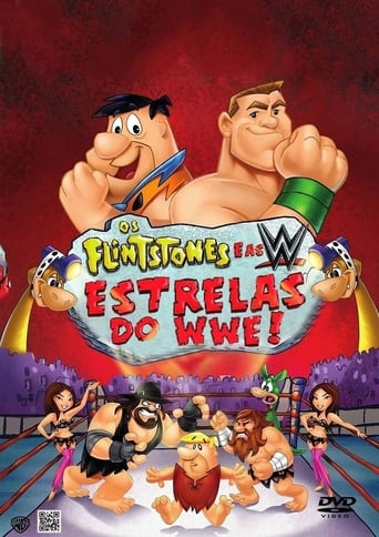 Os Flintstones e as Estrelas do WWE - Poster