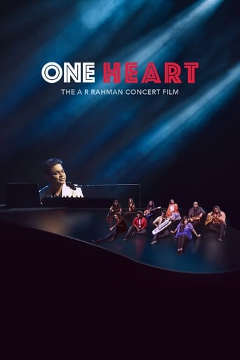 Poster of One Heart: The A.R. Rahman Concert Film