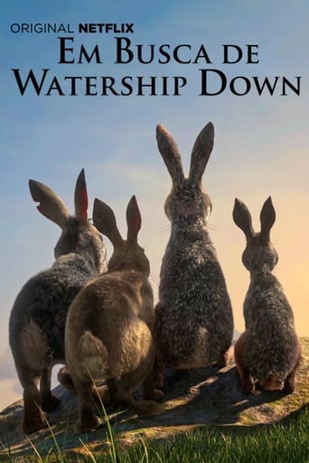 Poster of Em Busca de Watership Down