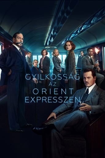 Poster of Gyilkosság az Orient expresszen