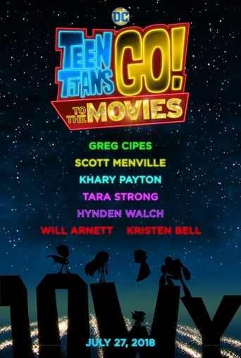 The Teen Titans GO! to the Movies (2018) movie poster image
