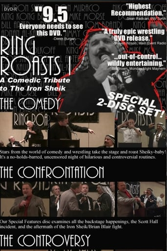 Poster of Ring Roasts 1- The Iron Sheik