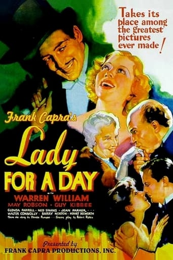 Lady for a Day Movie Poster