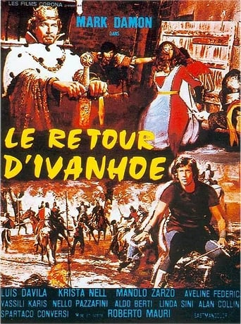 Poster of Ivanhoe, the Norman Swordsman