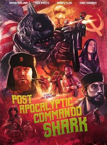 Post Apocalyptic Commando Shark Movie Poster