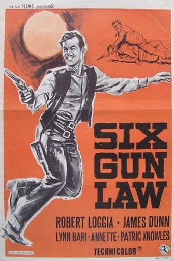Poster of Six Gun Law