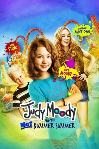 Poster of Judy Moody and the Not Bummer Summer
