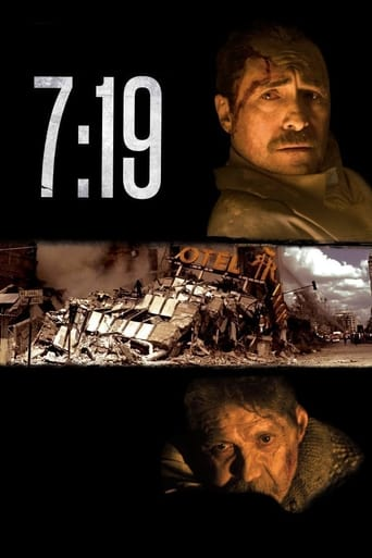 Poster of 7:19, la hora del temblor