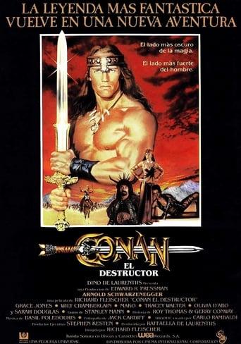 Poster of Conan, el destructor