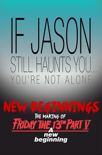 Poster of New Beginnings: The Making of Friday the 13th Part V