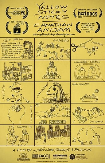Yellow sticky notes canadian anijam