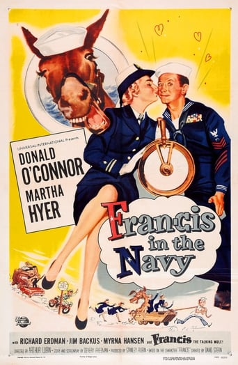 Poster of Francis in the Navy