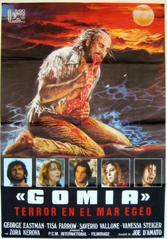 Poster of Gomia, terror en el Mar Egeo