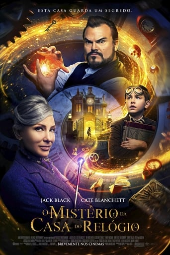 O Mistério do Relógio na Parede - Poster