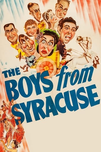 Poster of The Boys from Syracuse