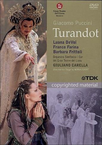 Poster of Giacomo Puccini: Turandot