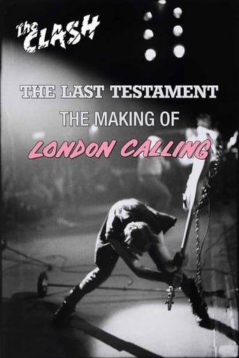 Poster of The Clash: The Last Testament - The Making of London Calling