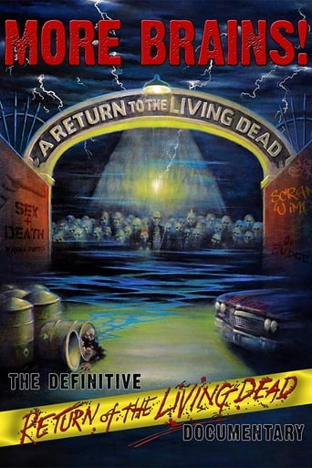 Poster of More Brains! A Return to the Living Dead