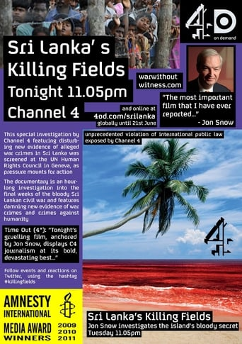 Poster of Sri Lanka's Killing Fields