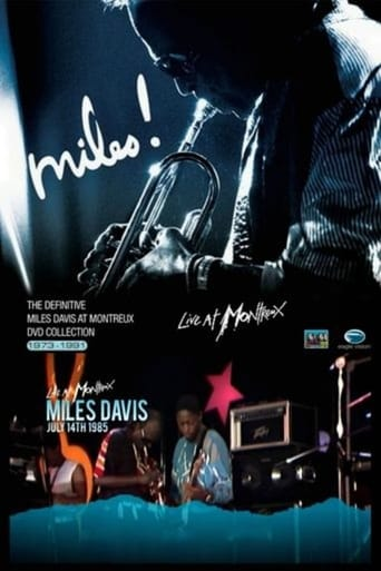 Poster of Miles Davis - The Definitive Miles Davis At Montreux - July 14 TH 1985