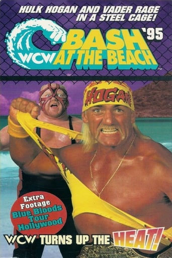 Poster of WCW Bash at the Beach 1995