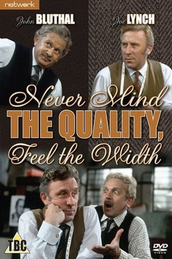 Poster of Never Mind the Quality, Feel the Width