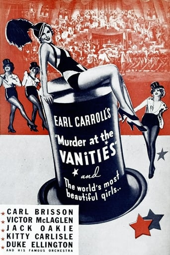 Poster of Murder at the Vanities