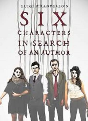 Poster of Six Characters in Search of An Author