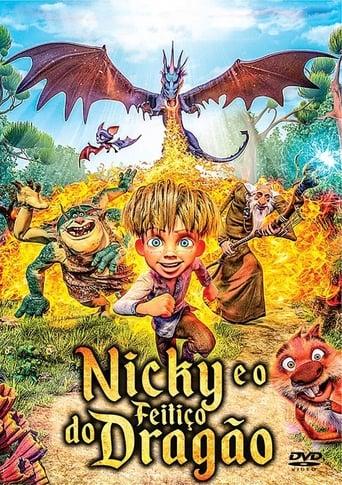 Nicky e o Feitiço do Dragão - Poster