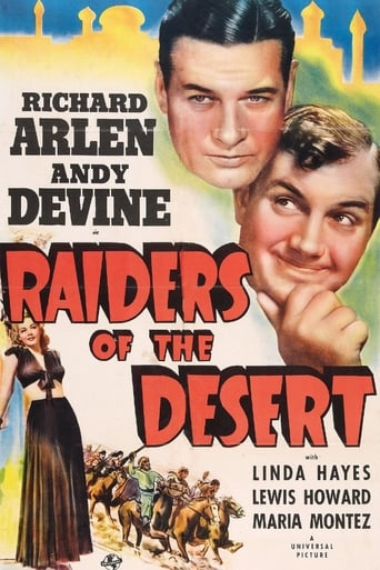 Poster of Raiders of the Desert