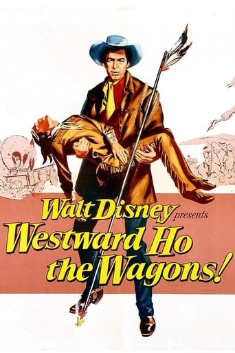 Poster of Westward Ho, The Wagons!