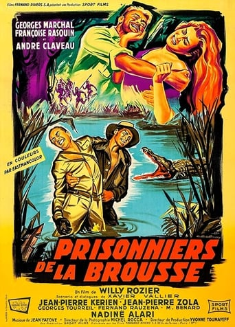 Poster of Prisoner of the Jungle