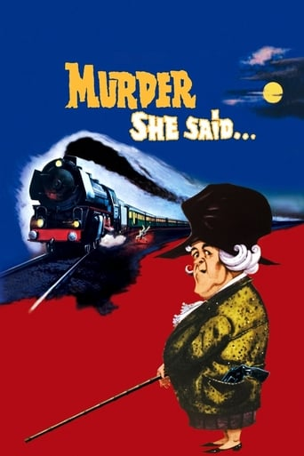 Poster of Murder She Said