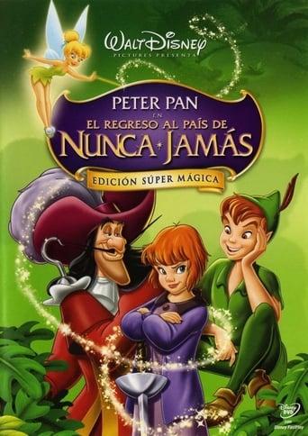Peter Pan en el regreso al país de Nunca jamás