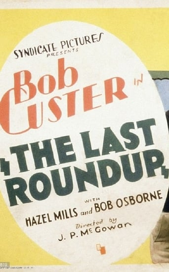 Poster of The Last Roundup