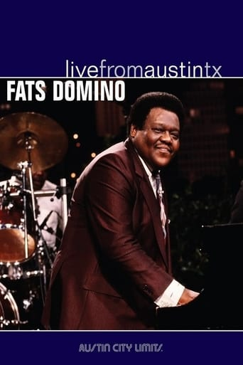 Poster of Fats Domino Live from Austin Texas
