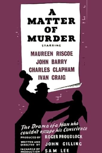 Poster of A Matter of Murder