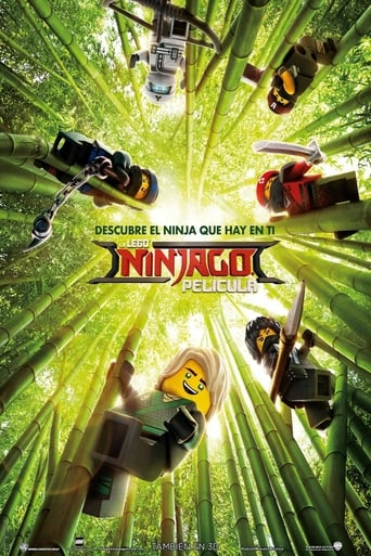 Poster of LEGO Ninjago La Película