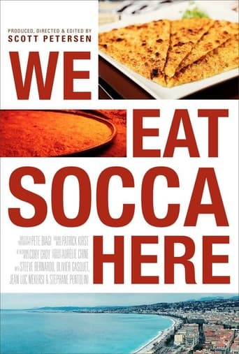 We Eat Socca Here