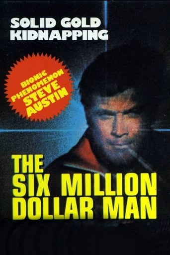 Poster of The Six Million Dollar Man: The Solid Gold Kidnapping