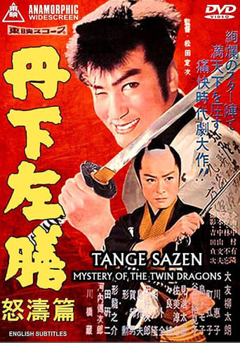 Poster of Tange Sazen: Mystery of the Twin Dragons
