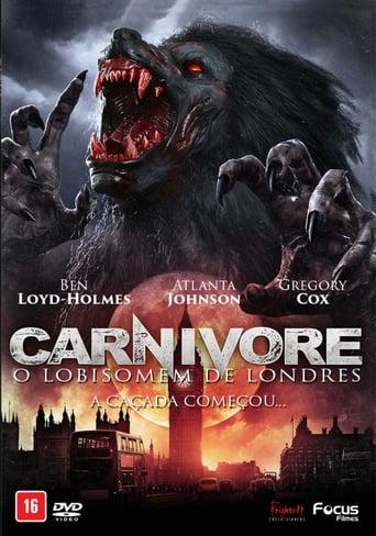 Carnivore O Lobisomem De Londres - Poster
