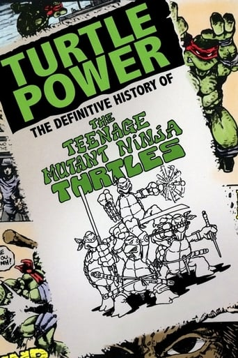 Poster of Turtle Power: The Definitive History of the Teenage Mutant Ninja Turtles