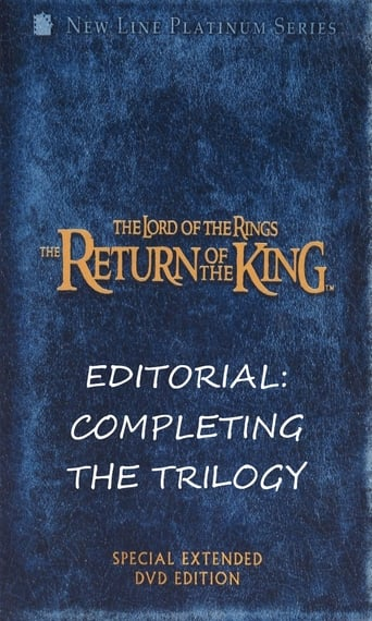 Editorial: Completing the Trilogy