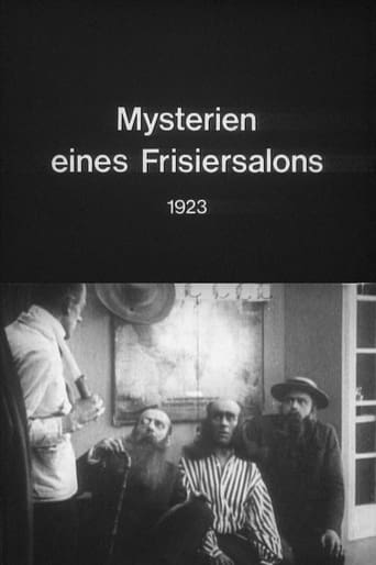 Poster of The Mysteries of a Hairdresser's Shop